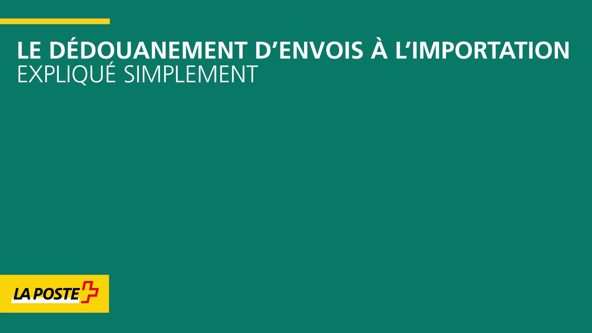Prix Du Dedouanement A L Importation La Poste